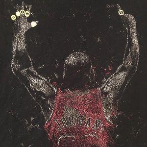 Michael Jordan Championship Rings Tshirt Bulls